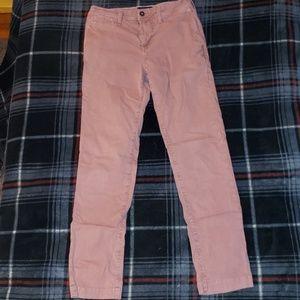 American Ealge Purple/Pinkish Khakis